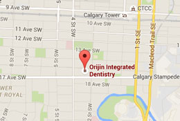Contact Orijin Integrated Dentistry, Calgary Dentist